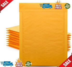 50 Pcs 6x10 Bubble Wrap Mailers Padded Mailing Envelope Bags Lightweight