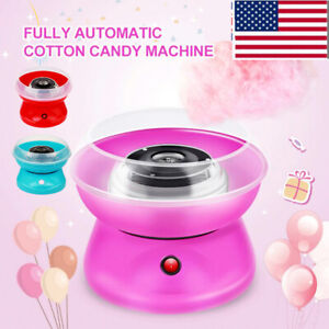 New Electric Cotton Candy Machine Floss Carnival Commercial Maker Party Us Plug