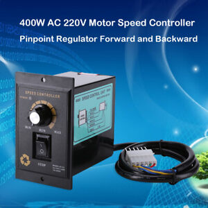 400w Ac 220v Motor Speed Controller Pinpoint Regulator Forward And Backward