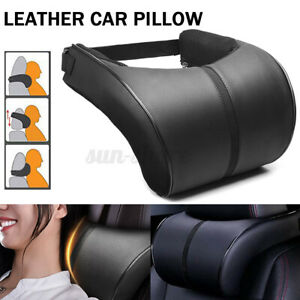 Auto Car Seat Pillow Memory Foam Neck Rest Headrest Support Cushion Soft Pad Usa