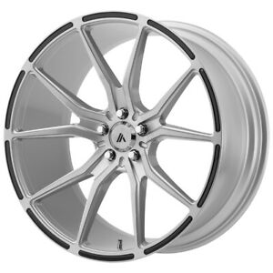 Staggered Asanti Abl 13 Front 20x9 Rear 20x10 5 5x115 Brushed Wheels Rims