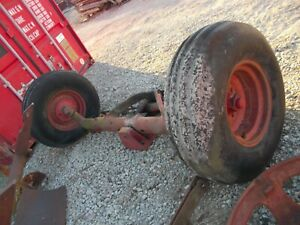 International Harvester Ih 1066 Tractor Wide Fronted W Tires Rims Ps Cylinder