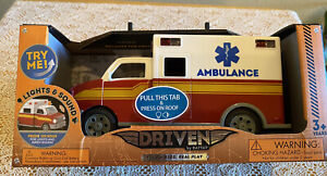 Driven By Batat Ambulance Complete With Lights And Sounds Movable Parts