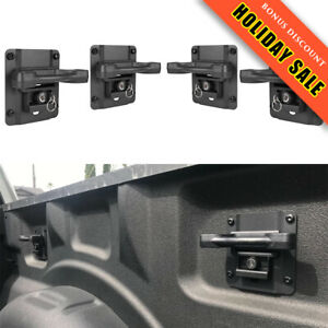 4x Truck Bed Tie Down Anchors Brackets Box Link Cleats For Ford F150 250 350