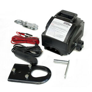 New Portable Electric Winch 12v Remote Towing Hitch Truck Trailer Boat 62000 Lb