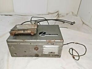 1940 S Philco Ar 55 Universal Am 6 Volt Radio With Control Head Cables M334