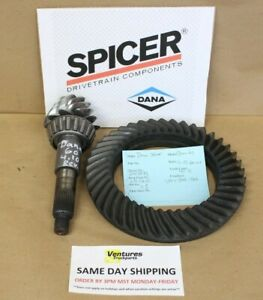 Ford Dana Super 60 Front 4 10 Ratio Ring And Pinion Gear Set Reverse Cut Spicer