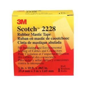 3m Rubber Mastic Tape 1 in X 10 ft