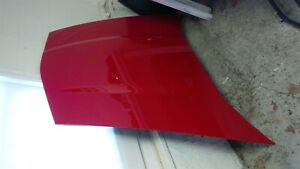 05 08 Corvette C6 Hood Victory Red With Liner