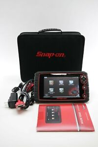 Snap On Tools Eesc320 Solus Edge Scan Tool Version 18 4 W Obd Ii Power Cords