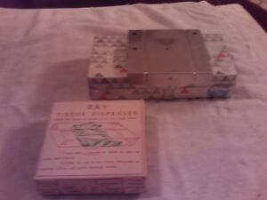 Vintage Ray Tissue Dispenser with Box Of Tissue