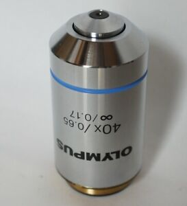 Olympus Microscope Objective Lens Plan 40x 0 65 0 17 For Cx Bx From Japan