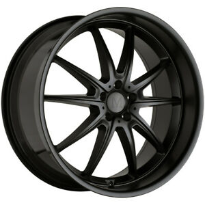 Mandrus Argent 18x8 5 5x112 32mm Matte Black Wheel Rim 18 Inch