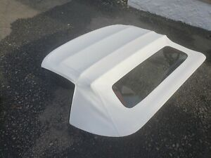 98 04 Corvette C5 Convertible Top Assembly White Complete Used Rare Color