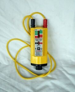 Ideal Industries Ac dc Voltage Tester 61 065 600vac 600vdc