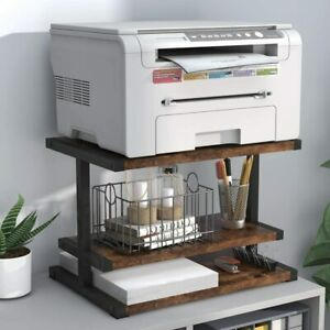 Tribesigns Printer Stand Industrial Paper Organizer For Home Office Us