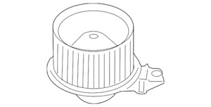 Genuine Ford Blower Motor Cl1z 19805 A