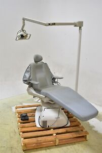 Belmont Bel 20 Gray Dental Exam Chair Operatory Patient Caregiving Furniture