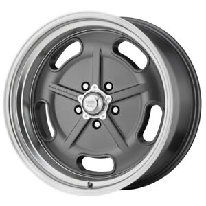 4 american Racing Vn511 Salt Flat 17x7 5x4 5 0mm Gunmetal Wheels Rims 17 Inch