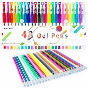 Coloring Gel Pens For Kid Adult Coloring Books Markers Fine Point Pen New