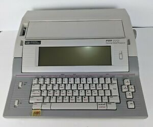 Vintage Smith Corona Pwp78ds Type Writer Word Processor Pwp 78 Ds With Key Guard