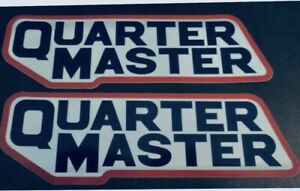 2 Quarter Master Racing Decals Stickers Drags Nhra Offroad Dirt Track Trans Am