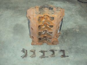 Chevrolet 409 Engine Block 3844422 Passenger Car X Dual Quad Oem Factory