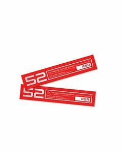 Fifteen52 Holeshot Rsr Wheel Lip Decal Set Of Four Red