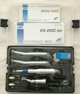 Dental Wrench Type High Speed Low Speed Nsk Handpiece Kit 2 Hole Us Stock