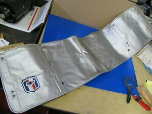 1947 1948 1949 1950 1951 Chevy Truck Nos Gm Accessory Radiator Grill Cover Rare