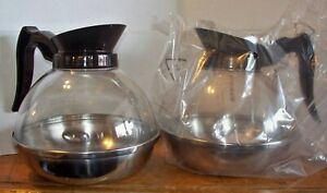 Lot Of 2 Koffee King 8890 Coffee Pots Carafe Decanter Commercial Restaurant