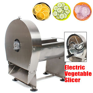 Commercial Electric French Fry Cutter Potato Veg Slicer Chopper Dicer Machine Us