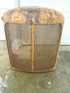 Allis Chalmers Wd Ac Tractor Original Nose Cone Grill Hood Cover