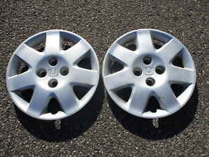 Factory 2001 2002 Honda Civic 15 Inch Bolt On Hubcaps Wheel Covers Beaters