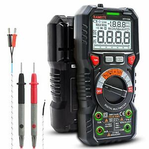Kaiweets Digital Lcd Multimeter Ammeter Ac Dc Voltage Ohmmeter Tester Meter Us