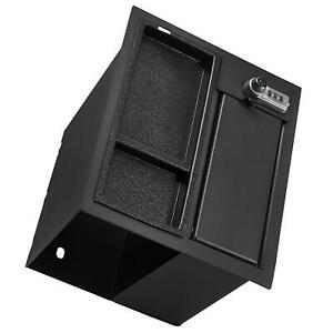 Center Console Safe Gun Storge Box W Tray For 2014 2021 Toyota Tundra 2019
