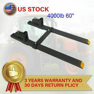 1500lb 4000lb 43 60 Tractor Bucket Forks Quick Attach Forks Loader Attachment