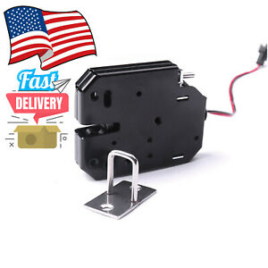 12v Dc 2a Electric Magnetic Lock Intelligent Cabinet Door Lock Fail Secure