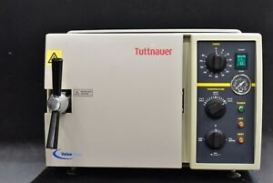 Tuttnauer 1730m 1993 Dental Medical Sterilizer Instrument Sterilizing Unit