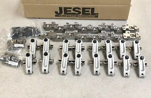 Jesel Chevy Sb2 2 Complete Roller Rocker Arms Kit 1 90 1 90 New Stands Bolts