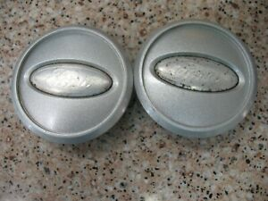 2005 2009 Ford Mustang 2 Silver Center Caps 4r33 1a096 Cb Or 4r33 1a096 Bb