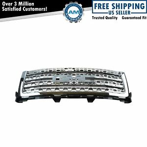 Oem 20966057 Chrome Honeycomb Upper Grille For Gmc Sierra Denali Pickup Truck