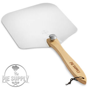 Aluminum Pizza Peel Paddle W Foldable Handle For Baking Oven Grill