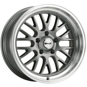 Staggered Ridler 607 Front 18x8 Rear 18x9 5 5x5 0mm Gunmetal Wheels Rims
