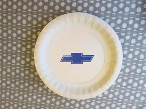 Vintage Chevrolet Dealer Plates 7 Real Deal 60 s 70 s Chevy Events Blue Bowtie