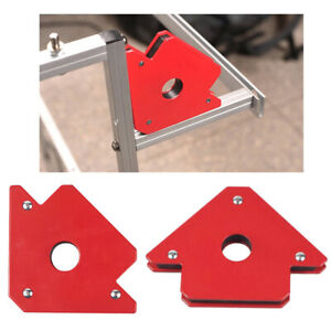 Arrow Shaped Magnetic Welding Holder Up To 50lb 25lb Strength Strong Magnets