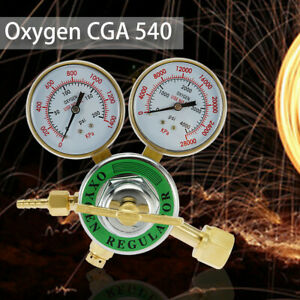 Oxygen Gas Welding Welder Regulator Pressure Gauge Victor Type Cutting Cga540 Us
