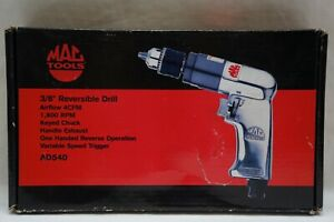 Mac Tools 3 8 Reversible Aluminum Keyed chuck Air Drill Ad540