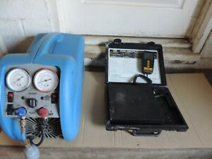 Hvac Recovery Unit And Scale