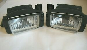 Nos Gm Pontiac Sunbird Fog Light Pair 16517620 16517619 Sae F 92 Guide 4w